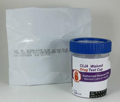 Urine - 12 panel + antiAdulterants Drug Test ClickerCup: 12 Panel Clicker; THC, COC, MOP300, AMP, MET, PCP, BZO, BAR, OXY, MDMA, MTD + Adulterants (CR/SG/pH) - CLIA Waived (25 tests)