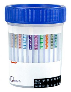 Urine - 12 panel ClickerCup 5oz - Drug Screen - HCDOAV-6124 : THC, COC, OPI2000, AMP, MET, PCP, BZO, BAR, BUP, OXY,  MDMA, MTD - (100 tests) - CLIA WAIVED