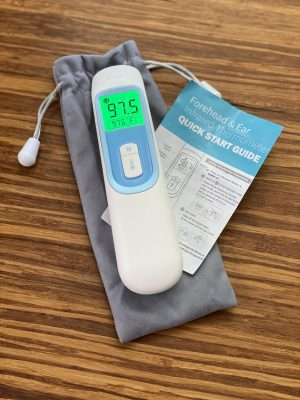 Thermometer - no touch - one second result with memory - 1/bx - IN STOCK